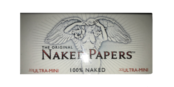 Naked Papers Ultra Mini Sized Premium Clear Rolling Paper